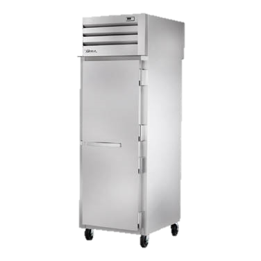 superior-equipment-supply - True Food Service Equipment - True One Section One Stainless Steel Front Door & One Glass Rear Door Pass-Thru Refrigerator