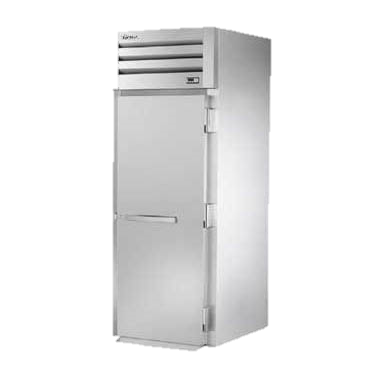 superior-equipment-supply - True Food Service Equipment - True One Stainless Steel Front & Rear Door Roll-Thru Refrigerator