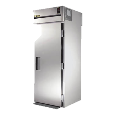 superior-equipment-supply - True Food Service Equipment - True One Section One Stainless Steel Door Roll-Thru Refrigerator
