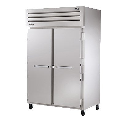 superior-equipment-supply - True Food Service Equipment - True Two Section S/S Front & Side Two Stainless Steel Door Reach-In Heated Cabinet