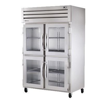 superior-equipment-supply - True Food Service Equipment - True Two Section Two Glass Half Door Reach-In Heated Cabinet