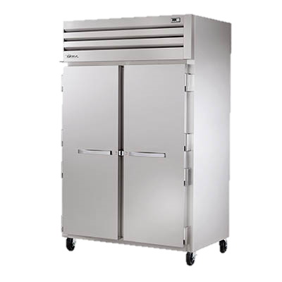 superior-equipment-supply - True Food Service Equipment - True Two Section Two Stainless Steel Door Reach-In Refrigerator