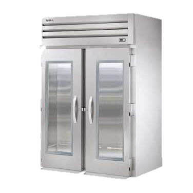 superior-equipment-supply - True Food Service Equipment - True Stainless Steel Two Section Two Glass Door Roll-In Refrigerator