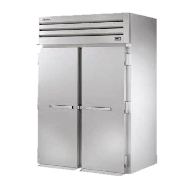superior-equipment-supply - True Food Service Equipment - True Two Stainless Steel Door Front & Rear Roll-Thru Refrigerator