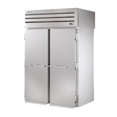 superior-equipment-supply - True Food Service Equipment - True Two Section Two Stainless Steel Door Roll-Thru Refrigerator