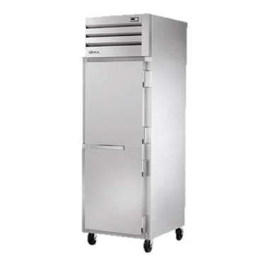 "superior-equipment-supply - True Food Service Equipment - True One Section One Stainless Steel Door Reach-In Freezer 27.5""W"