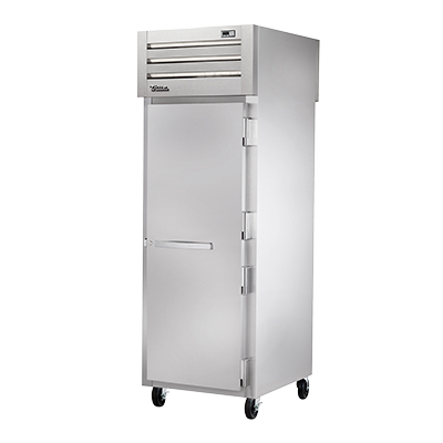 superior-equipment-supply - True Food Service Equipment - True Stainless Steel One-Section One Solid Door Pass-Thru Freezer