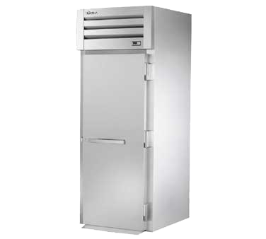 "superior-equipment-supply - True Food Service Equipment - True Stainless Steel One-Section One Door Roll-In Freezer 35""W"