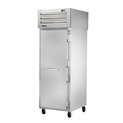 superior-equipment-supply - True Food Service Equipment - True One-Section One Stainless Steel Front & Rear Door Pass-Thru Heated Cabinet