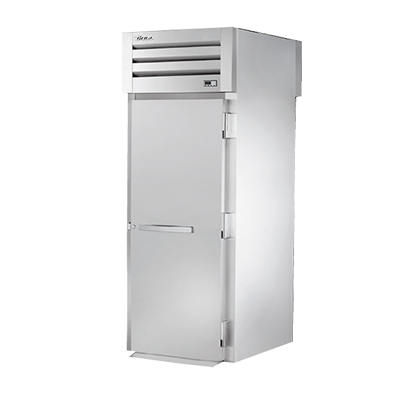 superior-equipment-supply - True Food Service Equipment - True One-Section One Stainless Steel Door Front & Rear Roll-Thru Heated Cabinet