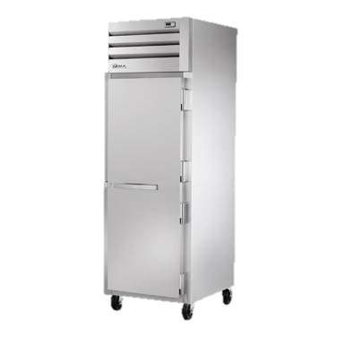 superior-equipment-supply - True Food Service Equipment - True One Section One Stainless Steel Door Reach-In Refrigerator