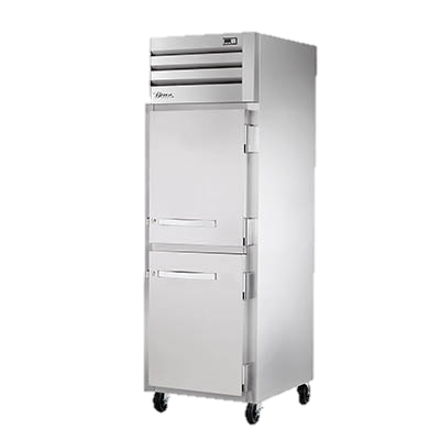 superior-equipment-supply - True Food Service Equipment - True One Section Two Stainless Steel Half Door Reach-In Refrigerator