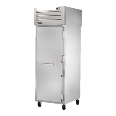 superior-equipment-supply - True Food Service Equipment - True One-Section One Stainless Steel Door Front & Rear Pass-Thru Refrigerator