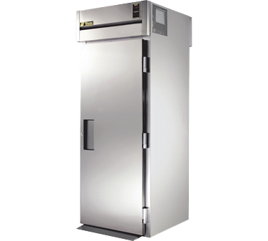 superior-equipment-supply - True Food Service Equipment - True One-Section One Stainless Steel Door Front & Rear Roll-Thru Refrigerator