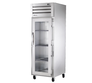 superior-equipment-supply - True Food Service Equipment - True One-Section One Glass Door Reach-In Refrigerator