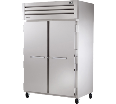 superior-equipment-supply - True Food Service Equipment - True Two-Section Two Stainless Steel Door Reach-In Freezer