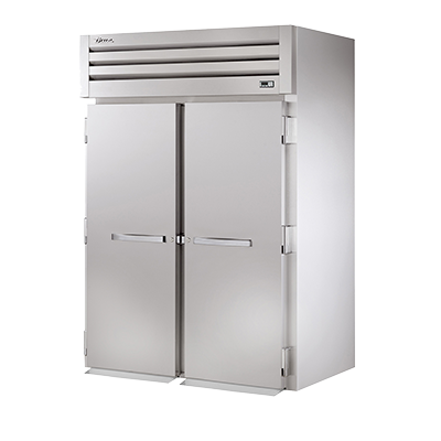 "superior-equipment-supply - True Food Service Equipment - True Stainless Steel Two Door Roll-In Freezer 68""W"