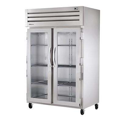 superior-equipment-supply - True Food Service Equipment - True Stainless Steel Two-Section Two Glass Door Reach-In Heated Cabinet