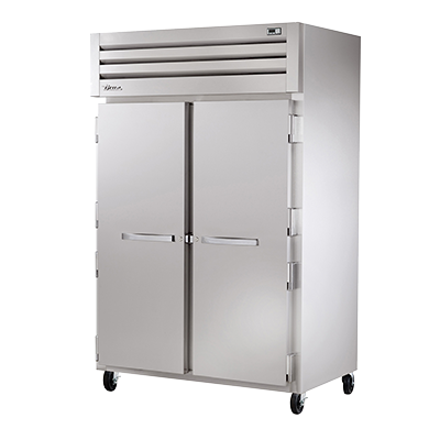 superior-equipment-supply - True Food Service Equipment - True Two-Section Two Stainless Steel Door Reach-In Heated Cabinet