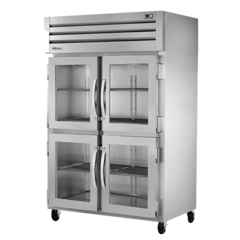 superior-equipment-supply - True Food Service Equipment - True Two-Section Four Glass Half Door Reach-In Refrigerator