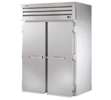 superior-equipment-supply - True Food Service Equipment - True Stainless Steel Two-Section Two Door Roll-In Refrigerator
