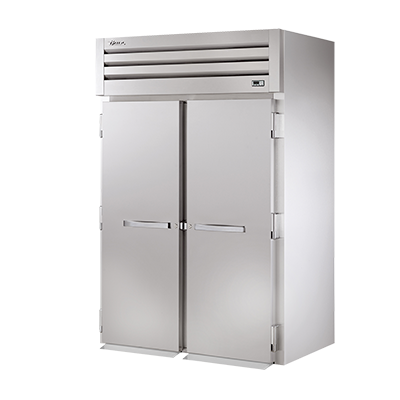 "superior-equipment-supply - True Food Service Equipment - True Stainless Steel Two-Section Two Door 89""H Roll-In Refrigerator"