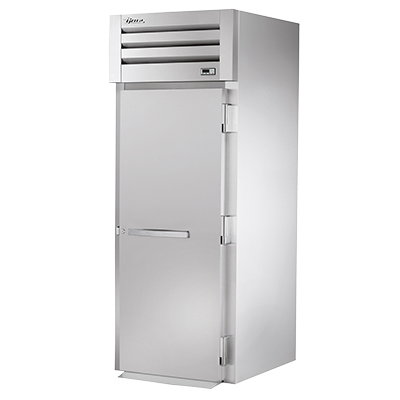 "superior-equipment-supply - True Food Service Equipment - True Stainless Steel One Door One Section Roll-In Freezer 35""W"