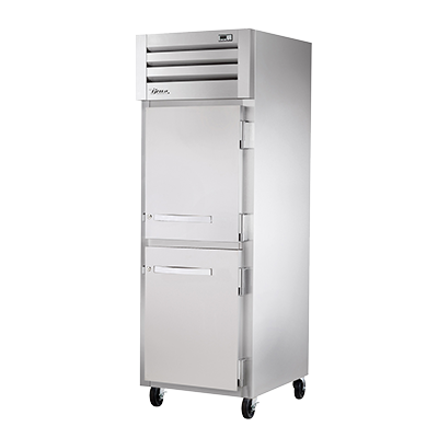 superior-equipment-supply - True Food Service Equipment - True One-Section Two Stainless Steel Half Door Reach-In Heated Cabinet