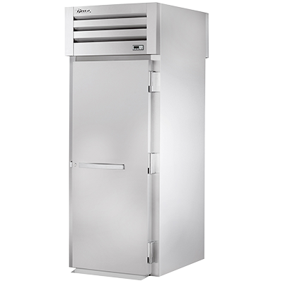 "superior-equipment-supply - True Food Service Equipment - True One-Section Front & Back Stainless Steel Door 89"" H Roll-Thru Refrigerator"