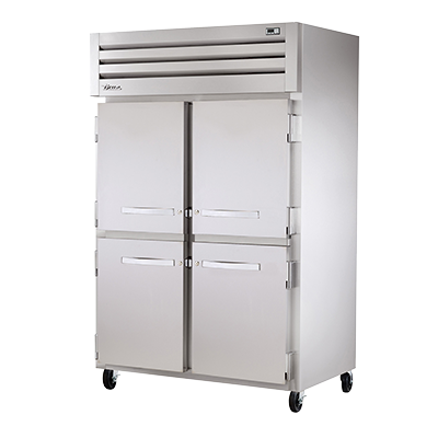 superior-equipment-supply - True Food Service Equipment - True Two-Section Four Stainless Steel Half Door Reach-In Heated Cabinet