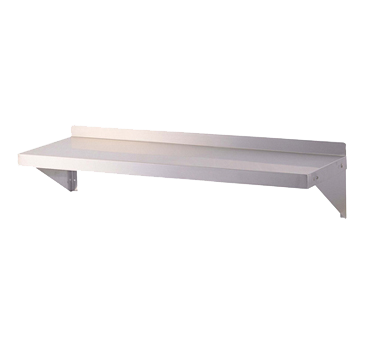 "Turbo Air Stainless Steel 96"" Wide Wall Mount Shelf"