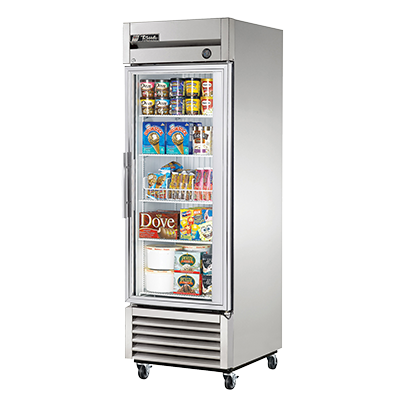 superior-equipment-supply - True Food Service Equipment - True One-Section One Glass Door Reach-In Freezer