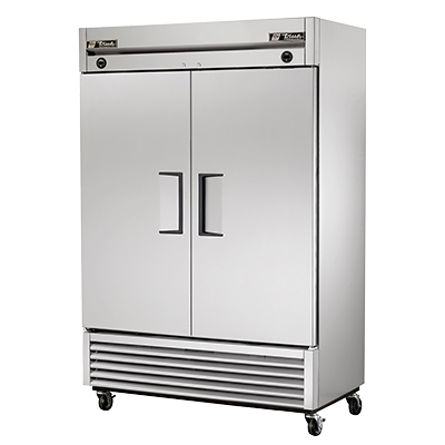 superior-equipment-supply - True Food Service Equipment - True Stainless Steel Two-Section Two Door Reach-In Refrigerator/Freezer