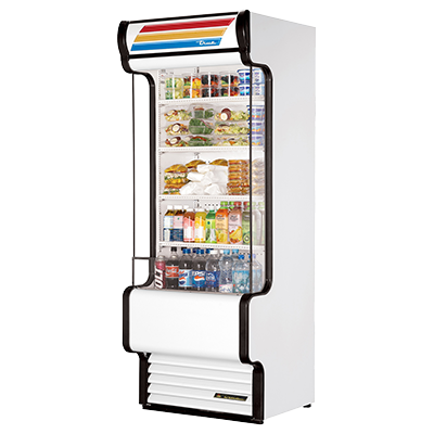 "superior-equipment-supply - True Food Service Equipment - True Plexiglass Side Panels Vertical Air Merchandiser 80""H"