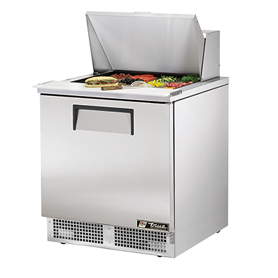 superior-equipment-supply - True Food Service Equipment - True One-Section Stainless Steel Exterior Sandwich/Salad Prep Table