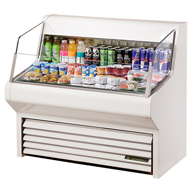 "superior-equipment-supply - True Food Service Equipment - True Self-Contained Horizontal Air Curtain Merchandiser 48""W"