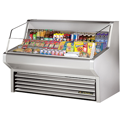 "superior-equipment-supply - True Food Service Equipment - True Stainless Steel Self Contained Horizontal Air Curtain Merchandiser 60""W"