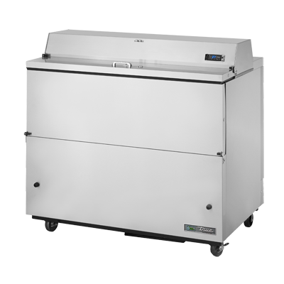 "superior-equipment-supply - True Food Service Equipment - True Stainless Steel Milk Cooler 49""W"