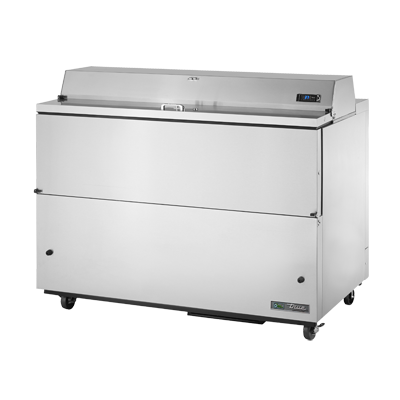 "True Stainless Steel Milk Cooler 58""W"
