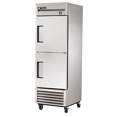 superior-equipment-supply - True Food Service Equipment - True One-Section Two Stainless Steel Half Door Reach-In Refrigerator