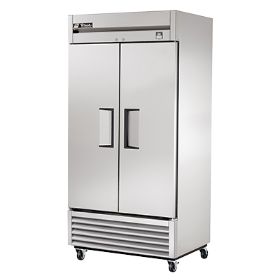 superior-equipment-supply - True Food Service Equipment - True Two-Section Two Stainless Steel Door Reach-In Refrigerator