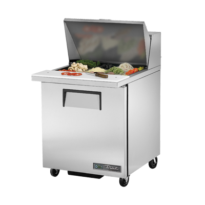 "superior-equipment-supply - True Food Service Equipment - True Stainless Steel One Section 27"" Wide Sandwich/Salad Unit"