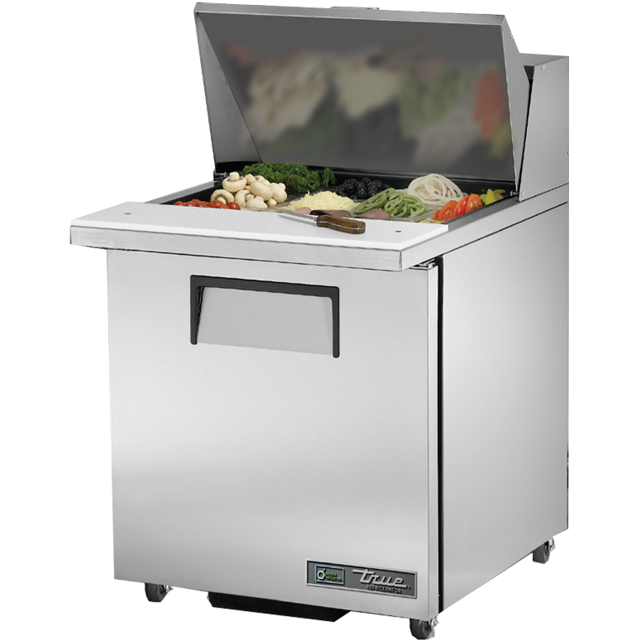 "superior-equipment-supply - True Food Service Equipment - True Stainless Steel One Section 27"" Wide ADA Sandwich/Salad Unit"