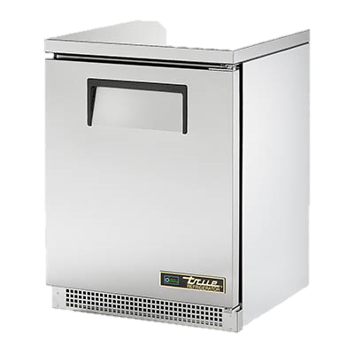 "superior-equipment-supply - True Food Service Equipment - True Stainless Steel One Section 24"" Wide Undercounter Refrigerator"