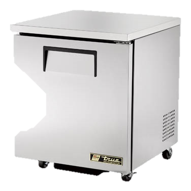 "superior-equipment-supply - True Food Service Equipment - True Stainless Steel One Section 27"" Wide ADA Undercounter Refrigerator"