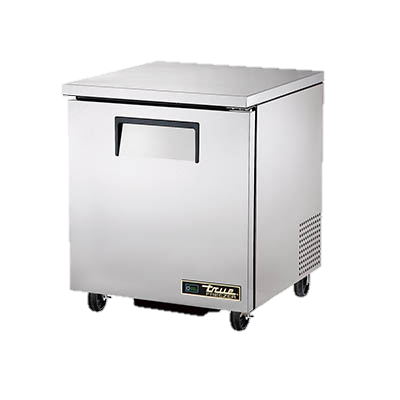"superior-equipment-supply - True Food Service Equipment - True Stainless Steel One Section 27"" Wide Undercounter Freezer"