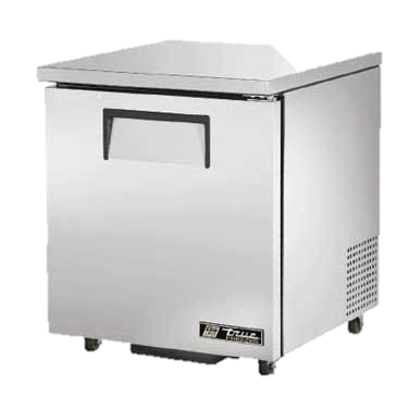 "superior-equipment-supply - True Food Service Equipment - True Stainless Steel One Section 27"" Wide ADA Undercounter Freezer"
