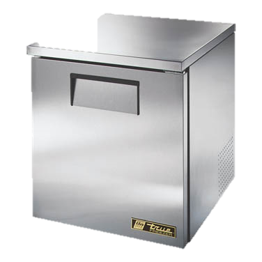 "superior-equipment-supply - True Food Service Equipment - True Stainless Steel One Section 27"" Wide Low Profile Undercounter Freezer"