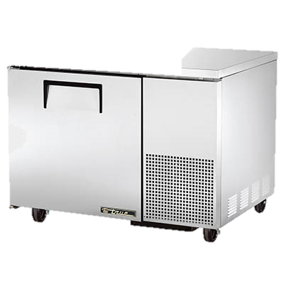 "superior-equipment-supply - True Food Service Equipment - True Stainless Steel 44"" Wide One Section Deep Undercounter Refrigerator"