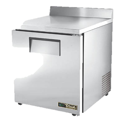 "superior-equipment-supply - True Food Service Equipment - True Stainless Steel One Section 27"" Wide ADA Work Top Refrigerator"